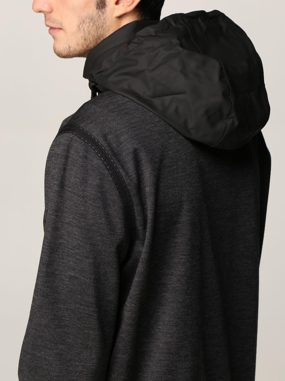 Sweatshirt Knt: Sweatshirt men Knt black 4