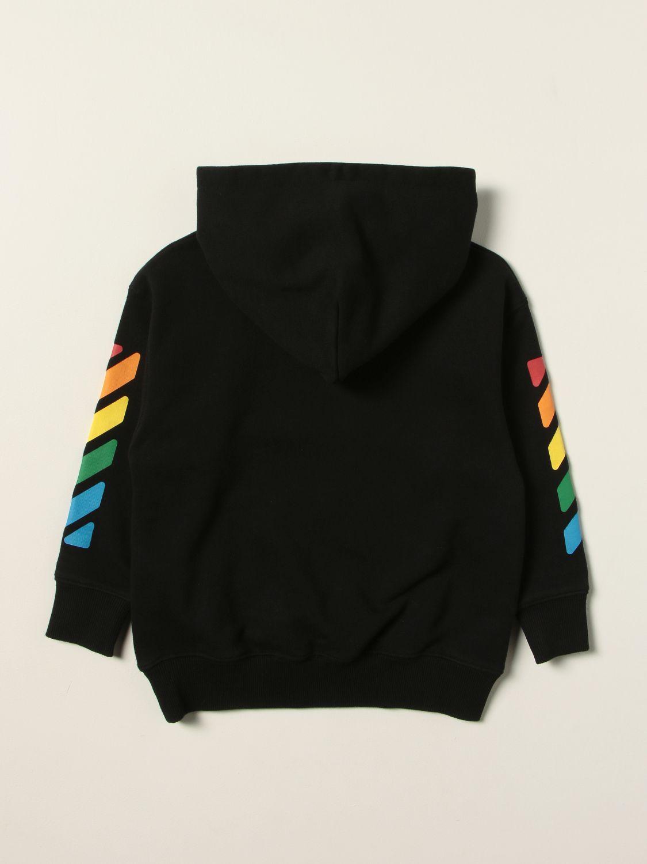 Sweater Off White: Sweater kids Off White black 2