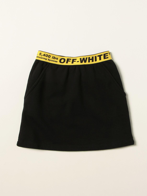 Jupe Off White: Jupe enfant Off White noir 1