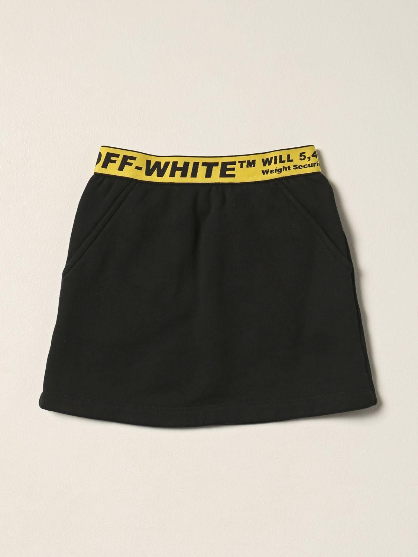 Jupe Off White: Jupe enfant Off White jaune 1