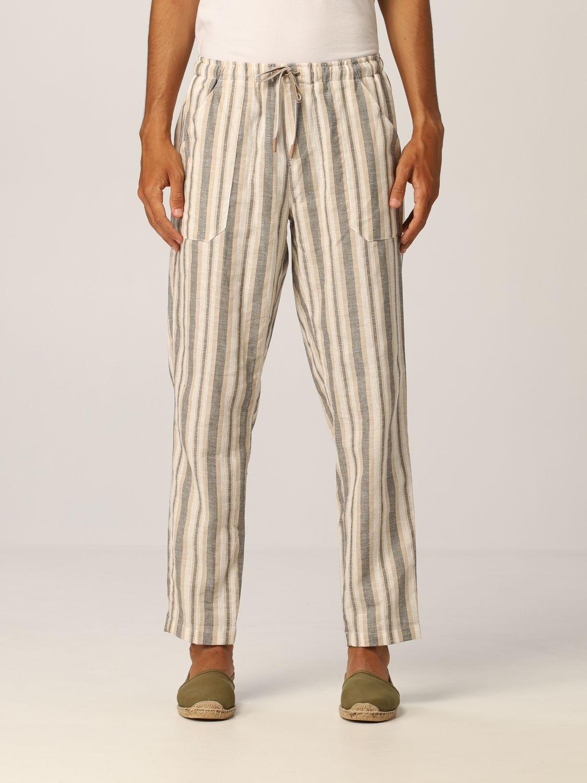Pants Baronio: Pants men Baronio beige 1