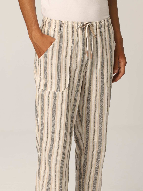 Pants Baronio: Pants men Baronio beige 3