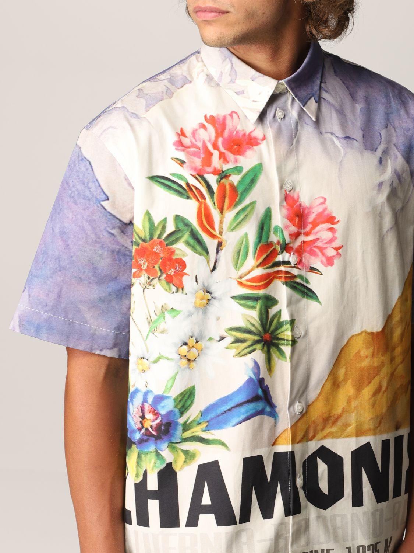 Camisa Msgm: Camisa hombre Msgm azul claro 5