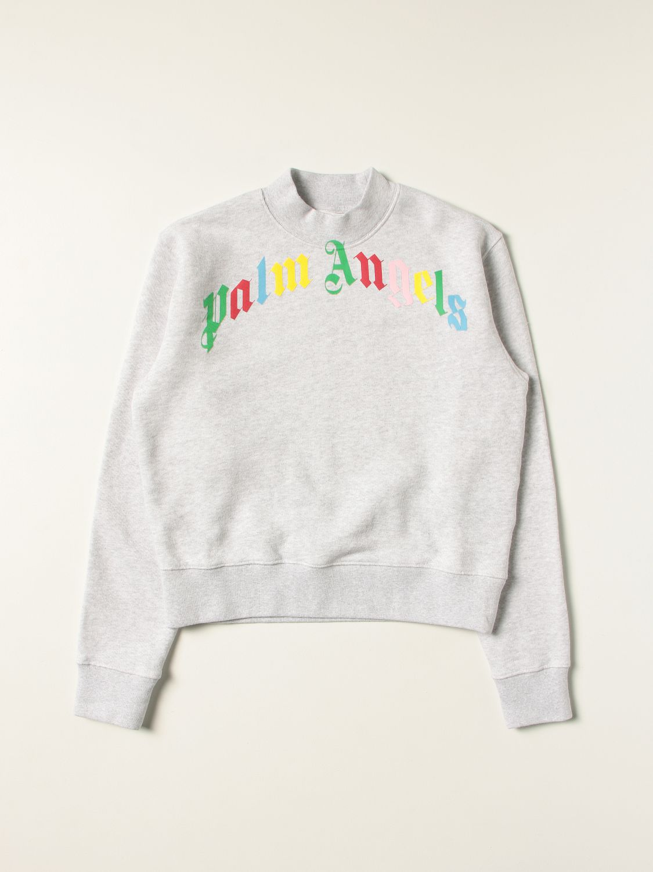 Sweater Palm Angels: Sweater kids Palm Angels grey 1
