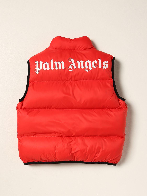 Jacket Palm Angels: Jacket kids Palm Angels red 2