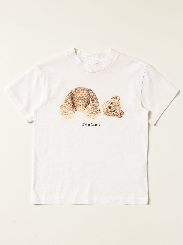 T-shirt Palm Angels: T-shirt kids Palm Angels white 1