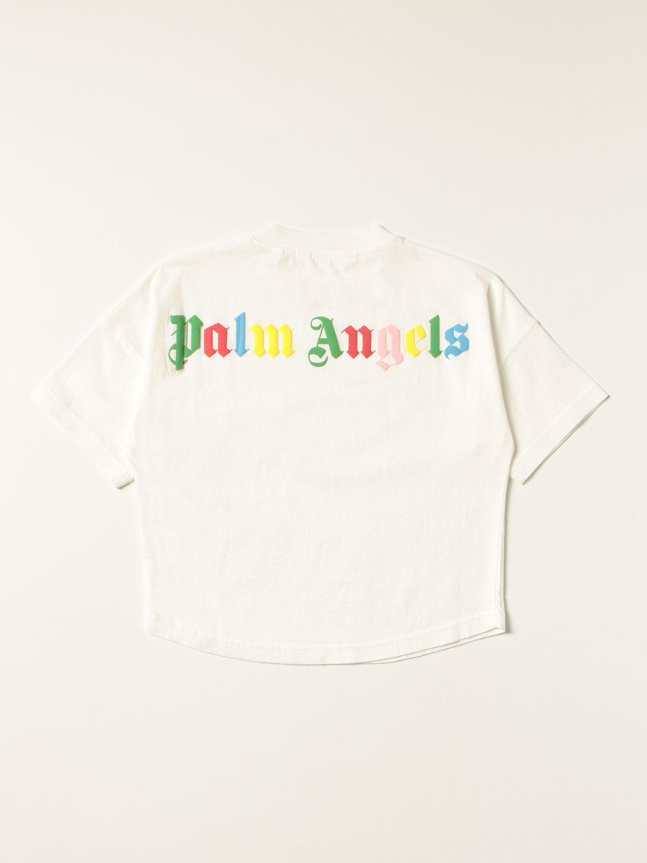 T-shirt Palm Angels: T-shirt kids Palm Angels white 2