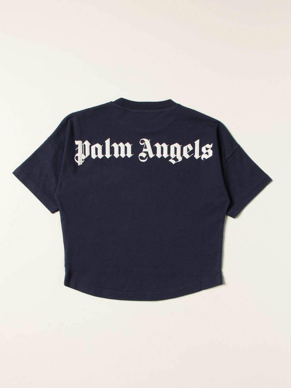 T-shirt Palm Angels: T-shirt kids Palm Angels navy 2