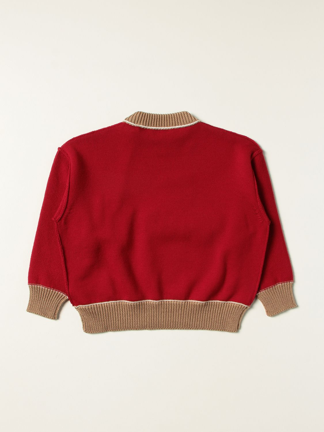 Pull Palm Angels: Pull enfant Palm Angels rouge 2