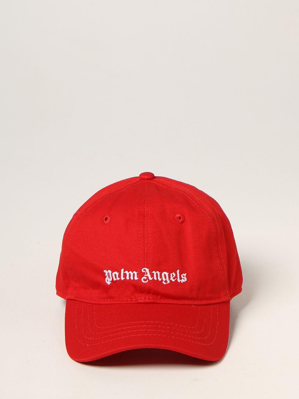 Chapeau Palm Angels: Chapeau enfant Palm Angels rouge 2