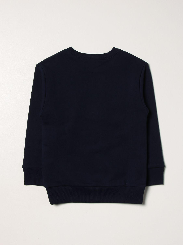 Maglia Gucci: Girocollo con stampa logo blue 2