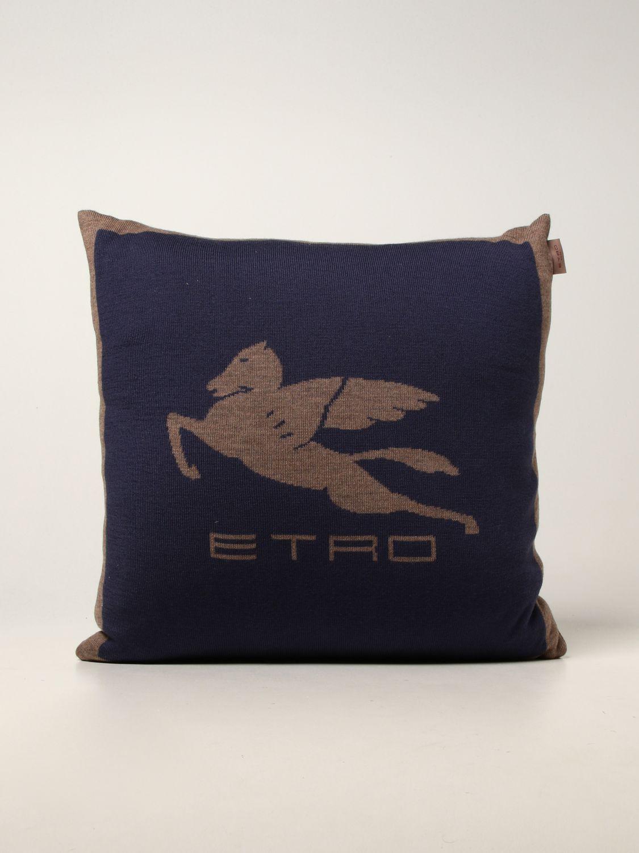 CUBIERTA Etro Home: Cubierta homeware Etro Home azul oscuro 1