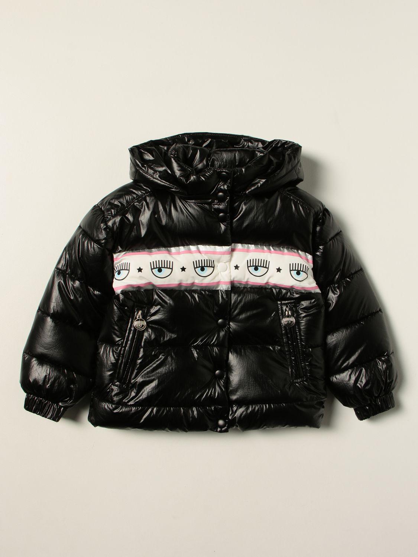 Куртка Chiara Ferragni: Куртка Детское Chiara Ferragni черный 1