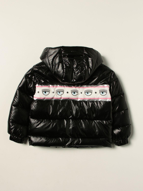 Куртка Chiara Ferragni: Куртка Детское Chiara Ferragni черный 2