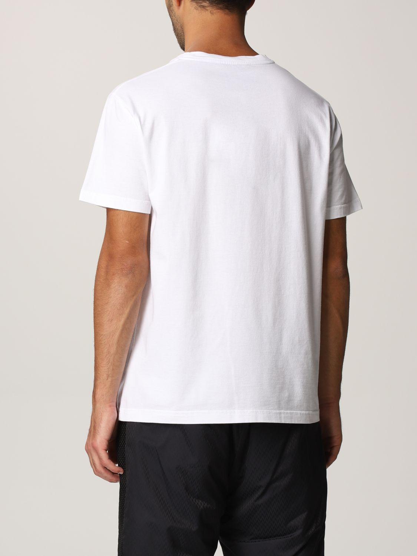 T-shirt Koche': Mezza manica girocollo stampa bianco 3