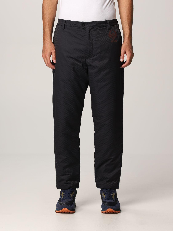 Pantalone Koche': Ecopelle nero 1