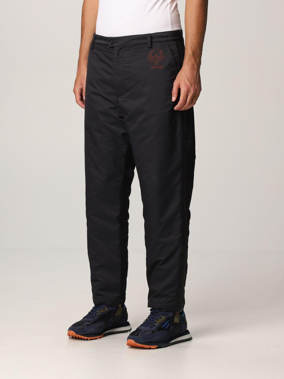 Pantalone Koche': Ecopelle nero 3