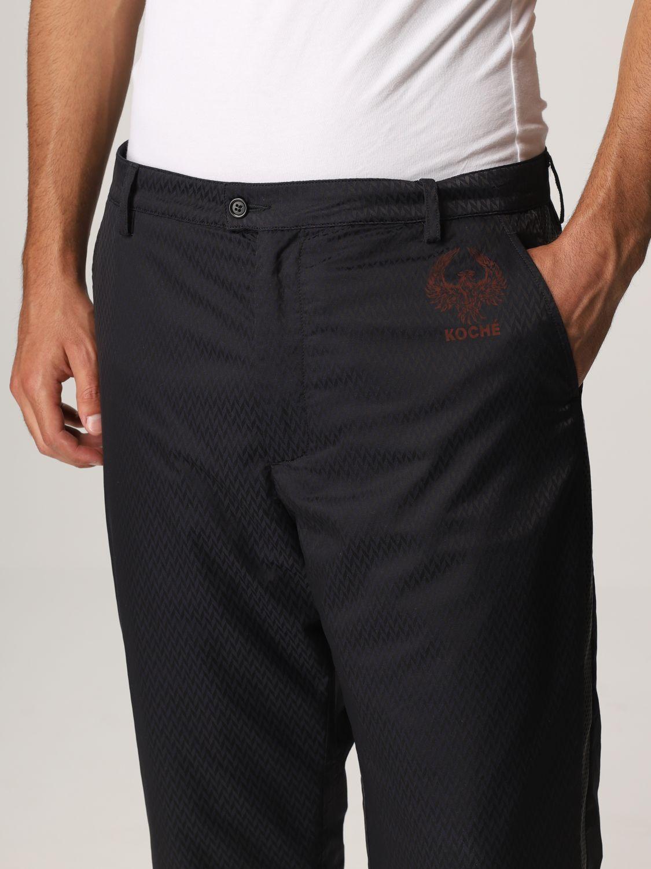 Pantalone Koche': Ecopelle nero 4