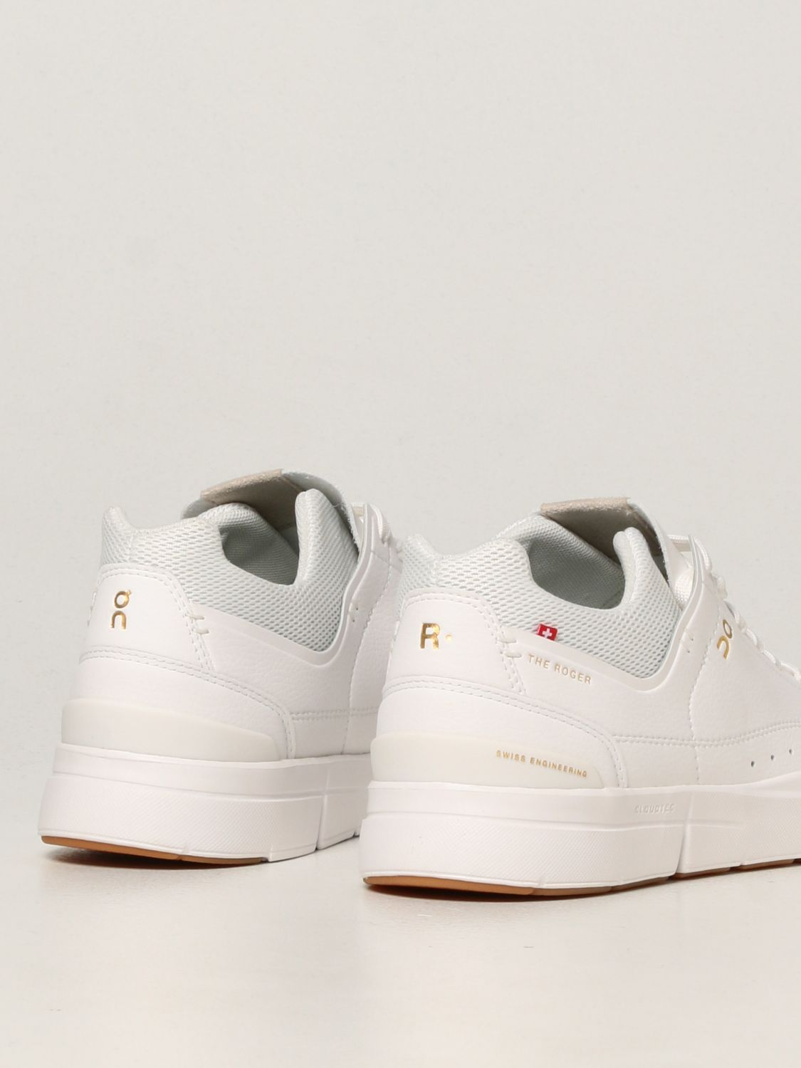 Baskets The Roger: Chaussures femme The Roger blanc 3