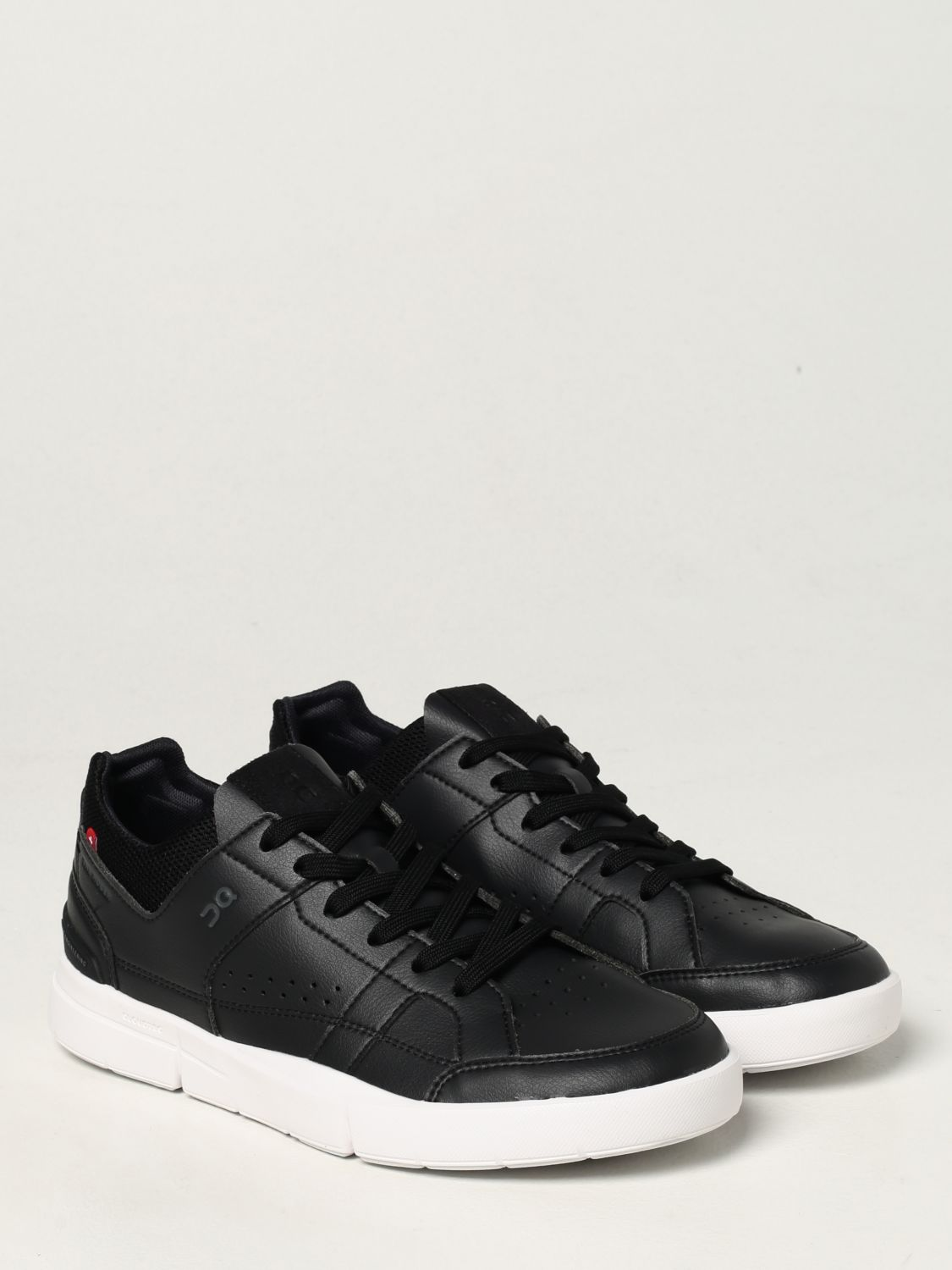Sneakers The Roger: Sneakers Clubhouse in pelle ecologica e mesh nero 2