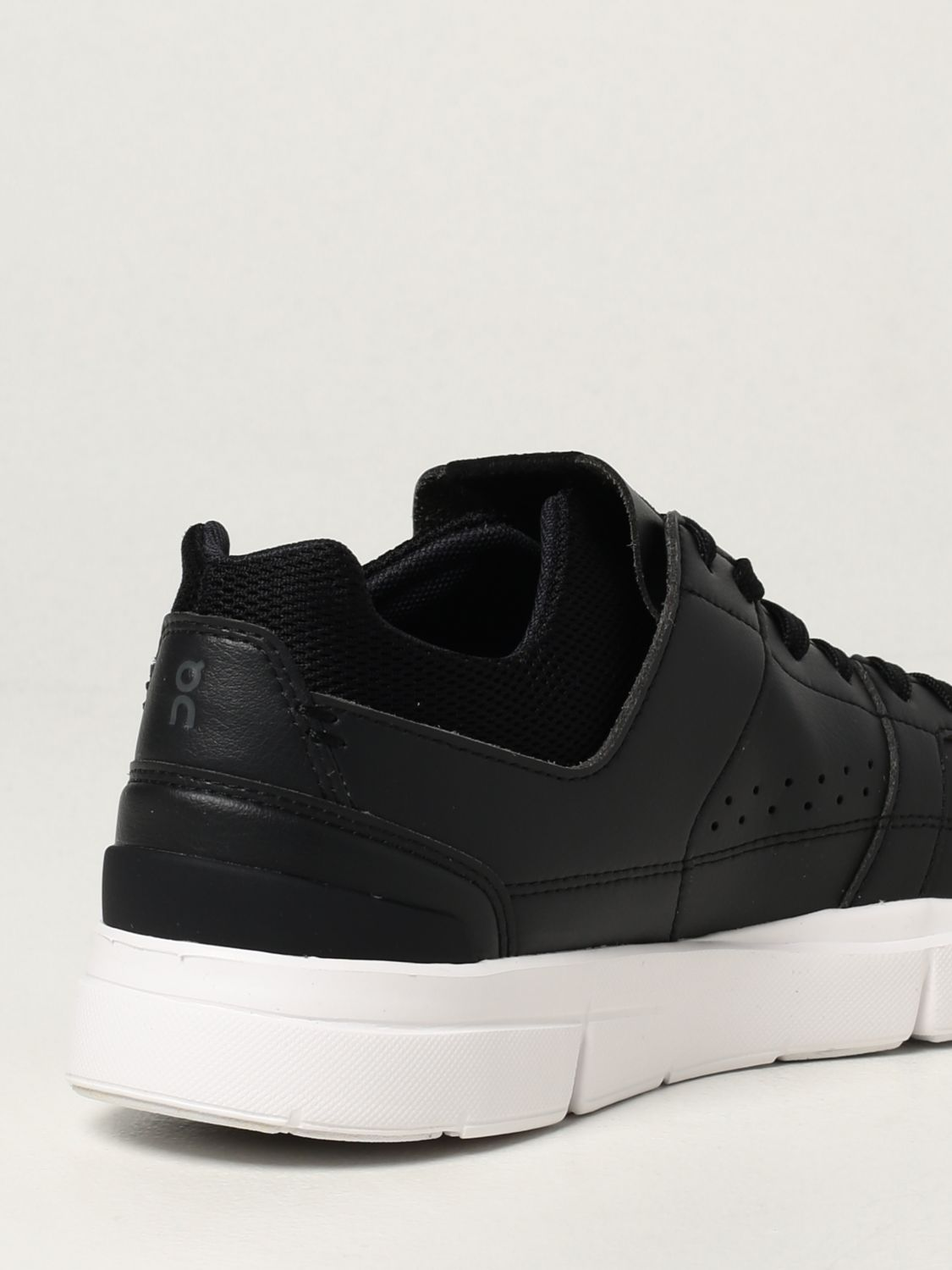 Sneakers The Roger: Sneakers Clubhouse in pelle ecologica e mesh nero 3