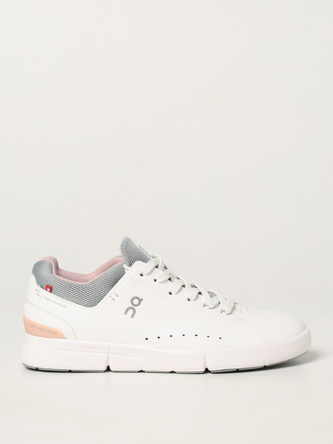 Baskets The Roger: Chaussures femme The Roger blanc 1