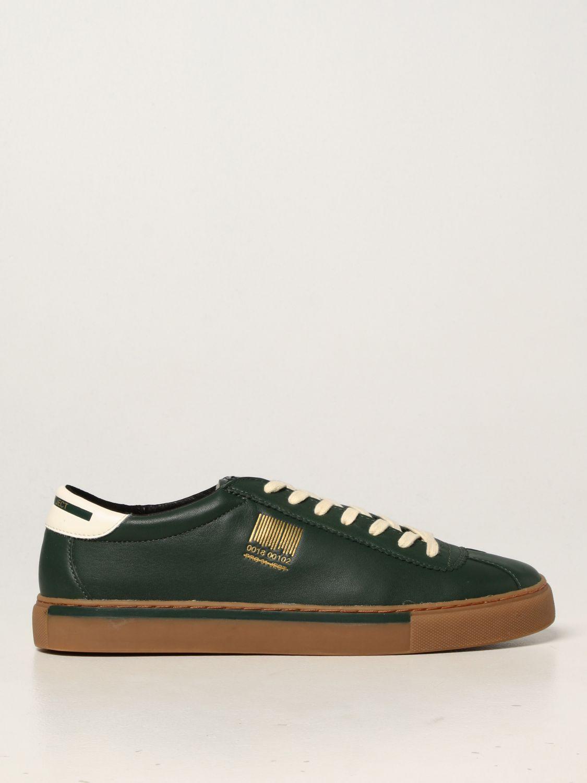 Sneakers Pro 01 Ject: Sneakers Pro 01 Ject in pelle verde 1