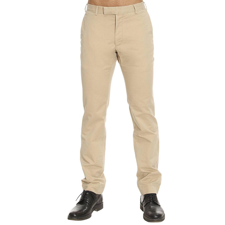 Trouser Men Polo Ralph Lauren Pants Polo Ralph Lauren Men Beige Pants Polo Ralph Lauren A20pe04bcr334ack42 Giglio En