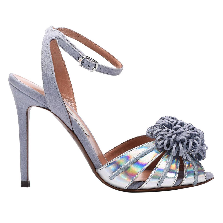 鞋 女士 L'autre Chose 银色 1