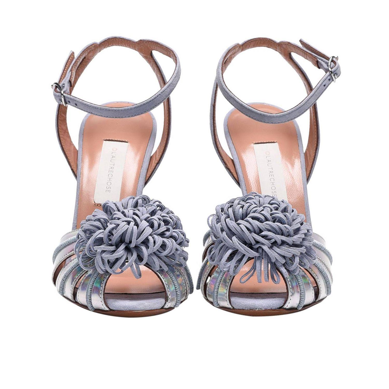 鞋 女士 L'autre Chose 银色 2