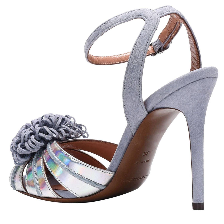 鞋 女士 L'autre Chose 银色 4