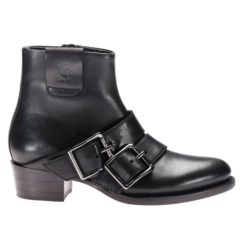 Bottines plates Karl Lagerfeld: Chaussures femme Karl Lagerfeld noir 1