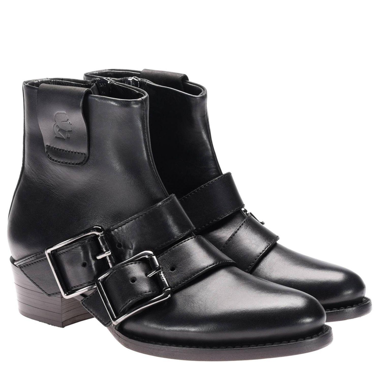 Bottines plates Karl Lagerfeld: Chaussures femme Karl Lagerfeld noir 2