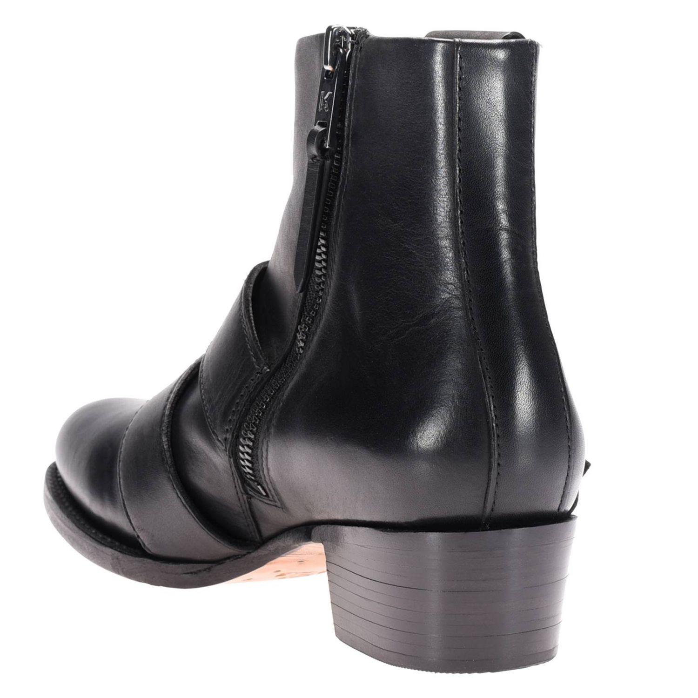 Bottines plates Karl Lagerfeld: Chaussures femme Karl Lagerfeld noir 4
