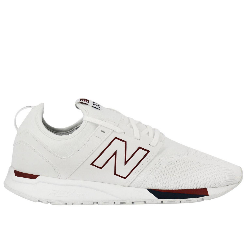 new balance blanco hombres zapatillas