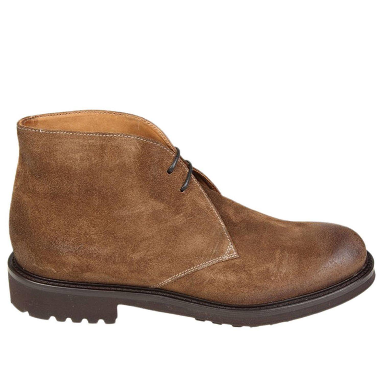 Desert boots Doucal's: Schuhe herren Doucal's tabak 1