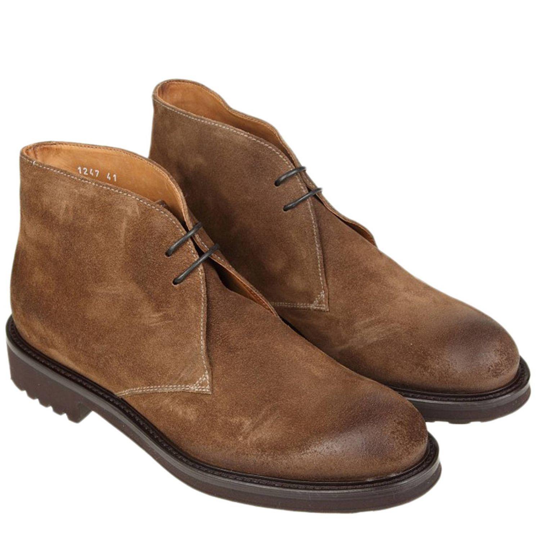 Desert boots Doucal's: Schuhe herren Doucal's tabak 2