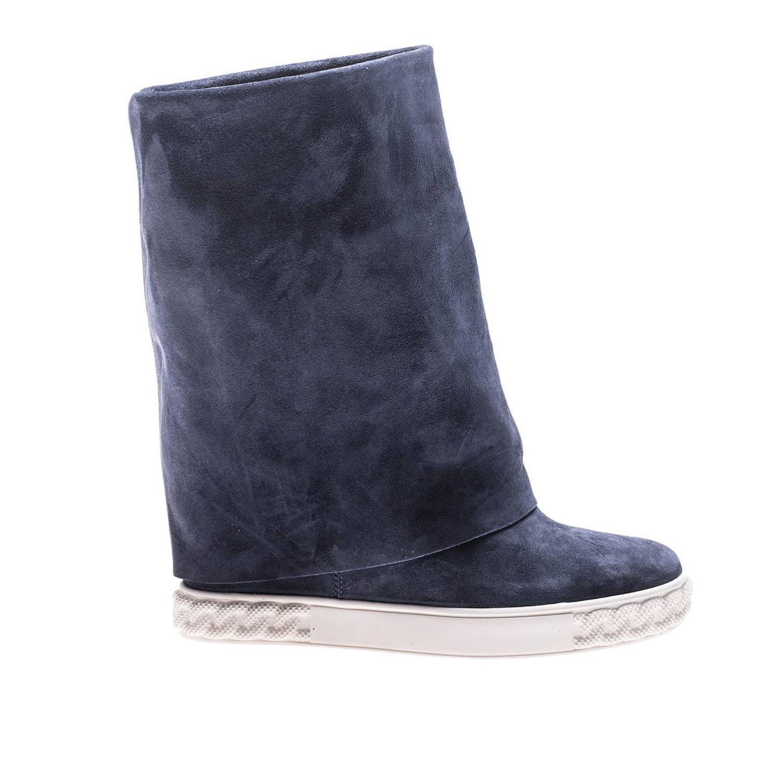 Flat Booties Shoes Women Casadei 8355962