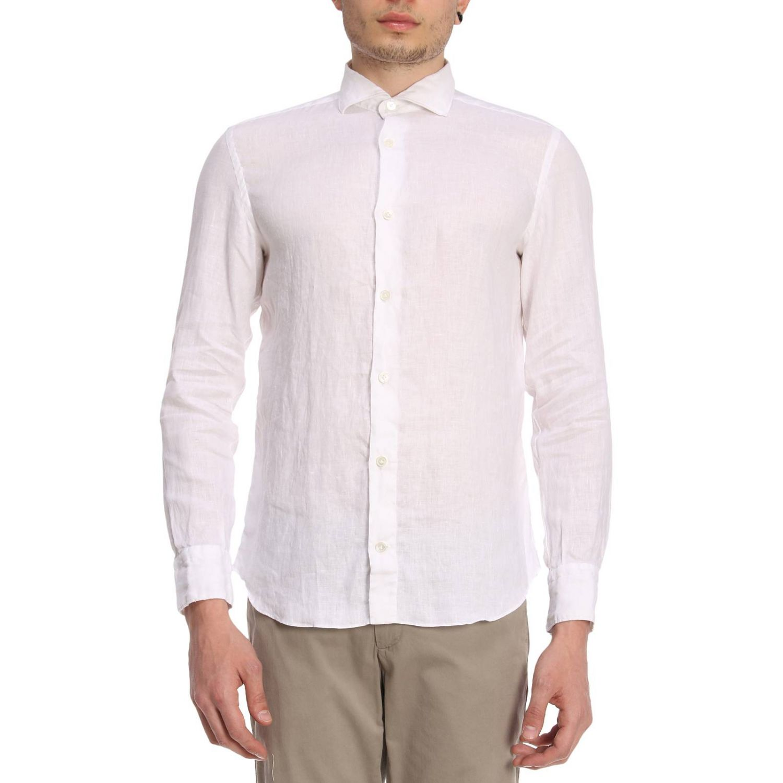 Camisa hombre Eleventy blanco 1