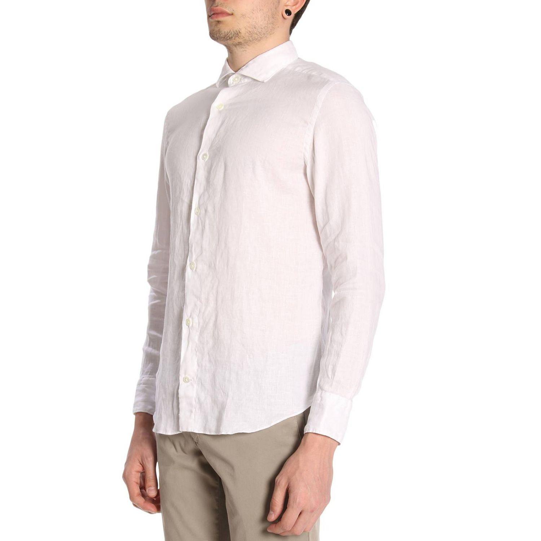 Camisa hombre Eleventy blanco 2