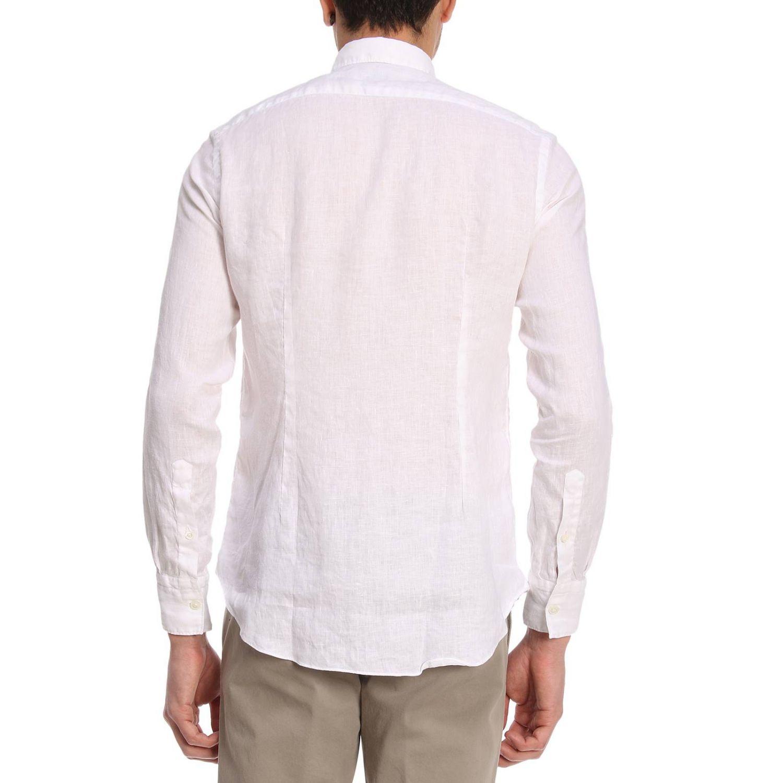 Camisa hombre Eleventy blanco 3