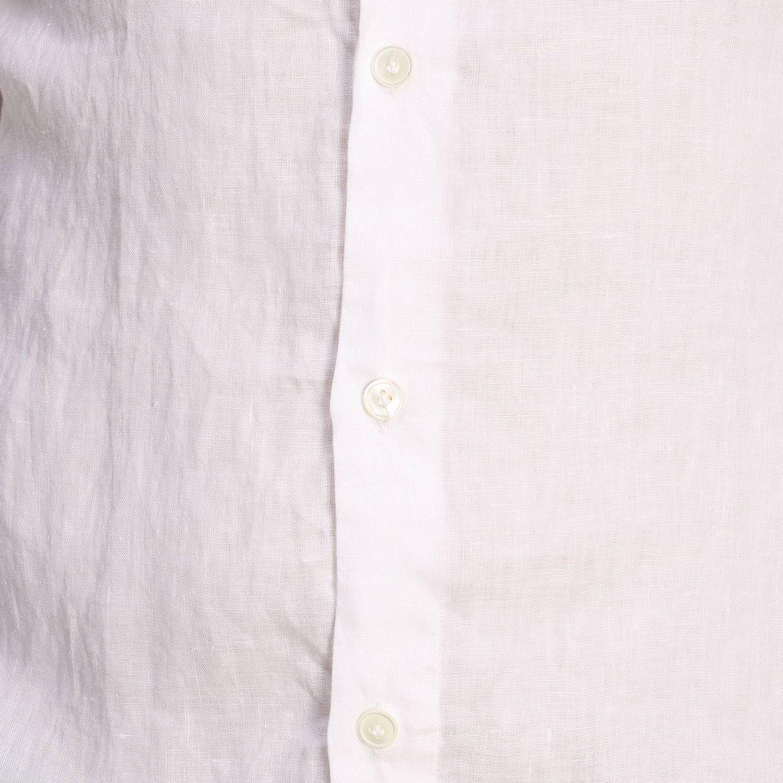 Camisa hombre Eleventy blanco 4