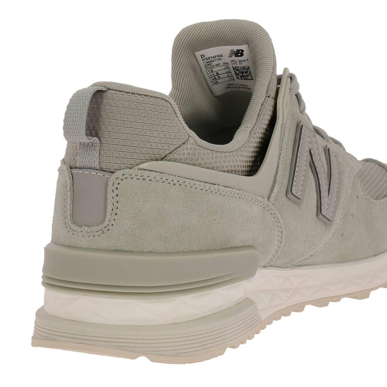 Trainers New Balance: Shoes men New Balance grey 4