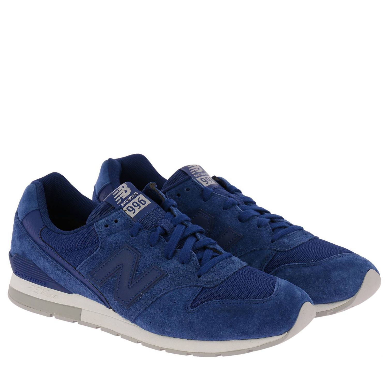 Trainers New Balance: Shoes men New Balance blue 2