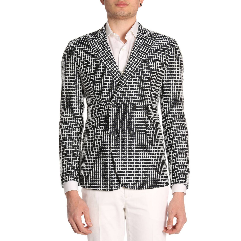 Jacket Brian Dales: Jacket men Brian Dales white 1
