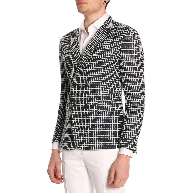 Jacket Brian Dales: Jacket men Brian Dales white 2