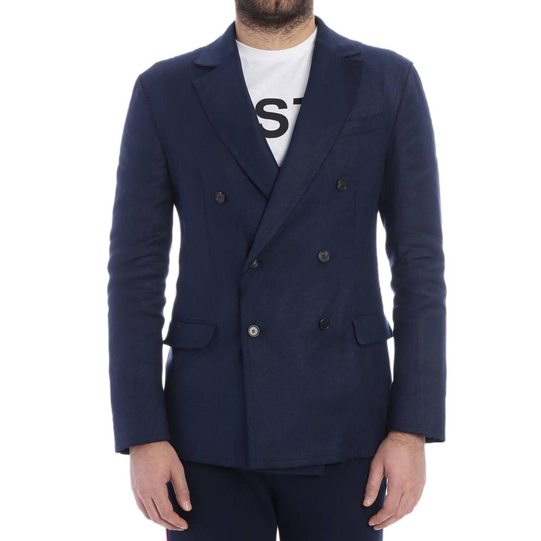 Jacke herren Ermanno Scervino blau 1