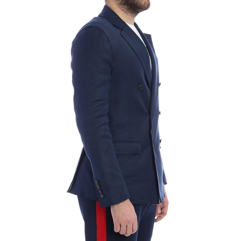 Jacke herren Ermanno Scervino blau 2