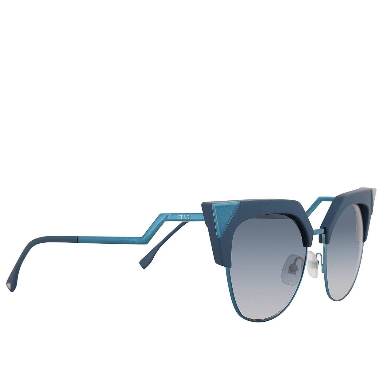 Brille Fendi: Sonnenbrille damen Fendi blau 1