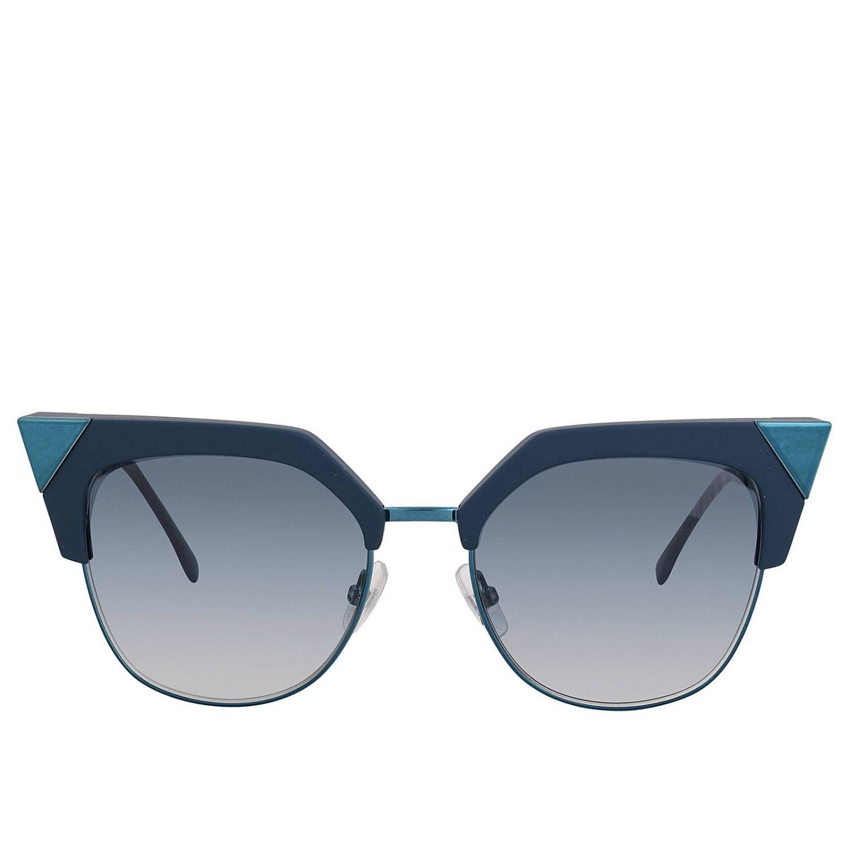 Brille Fendi: Sonnenbrille damen Fendi blau 2
